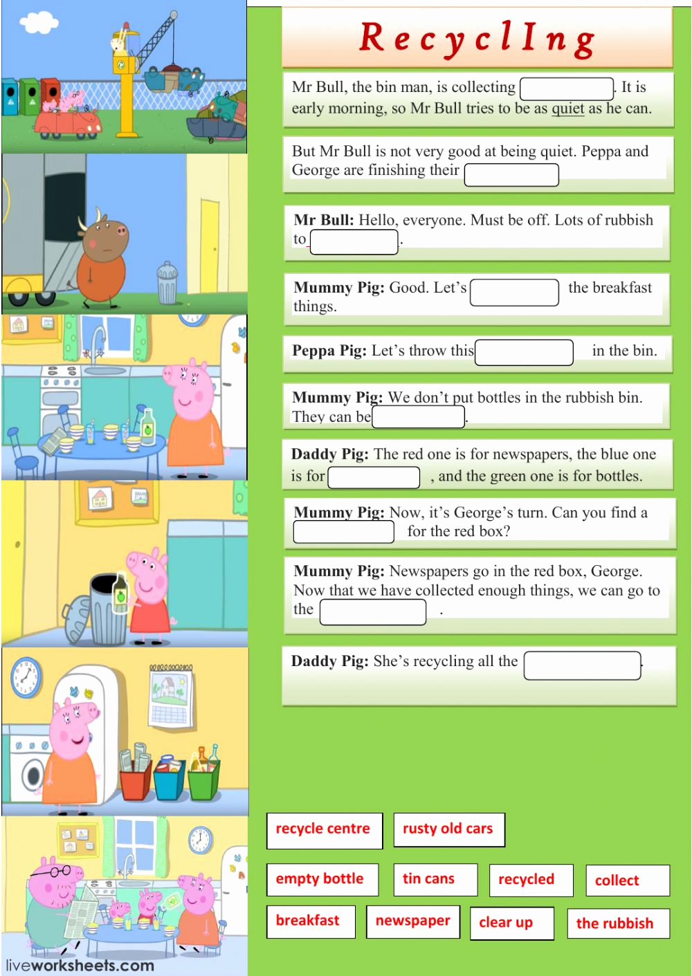 Free Recycling Worksheets Elegant Reduce Reuse Recycle Worksheets for 1st Grade