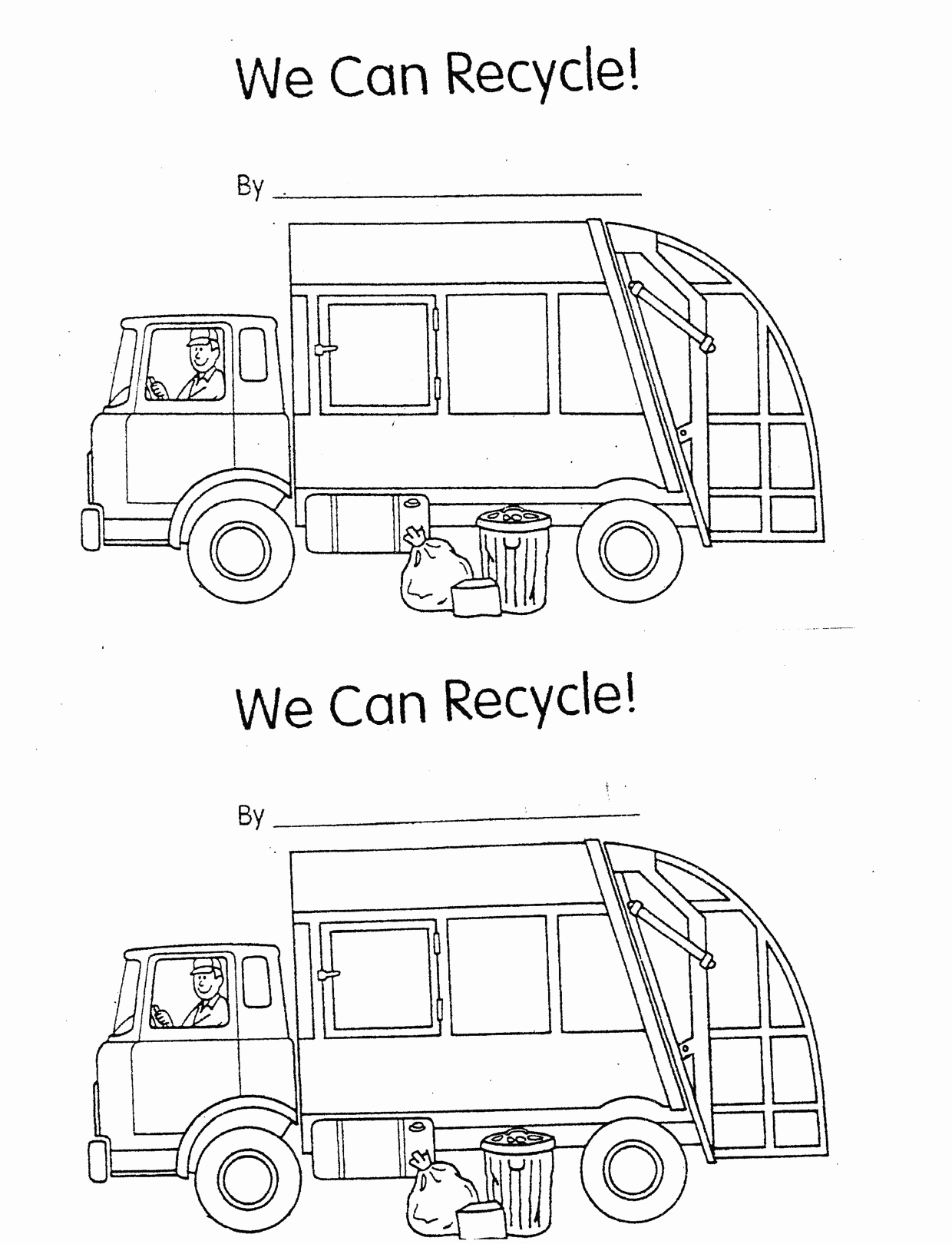 Free Recycling Worksheets Unique 6 Best Of Recycling Worksheets for Kindergarten