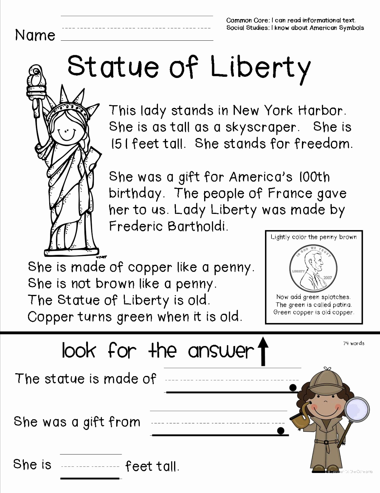 Free Us History Worksheets Inspirational American Symbols