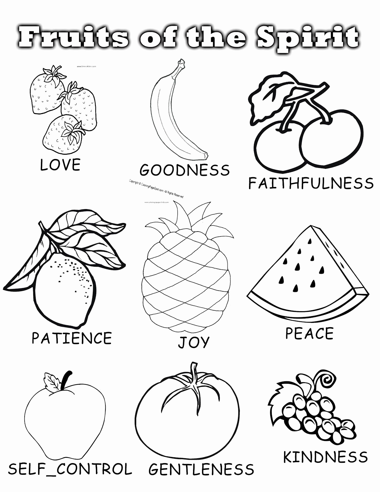 Fruits Of the Spirit Worksheets Best Of Penny Pinching Mom Fruits Of the Spirit Sunday School