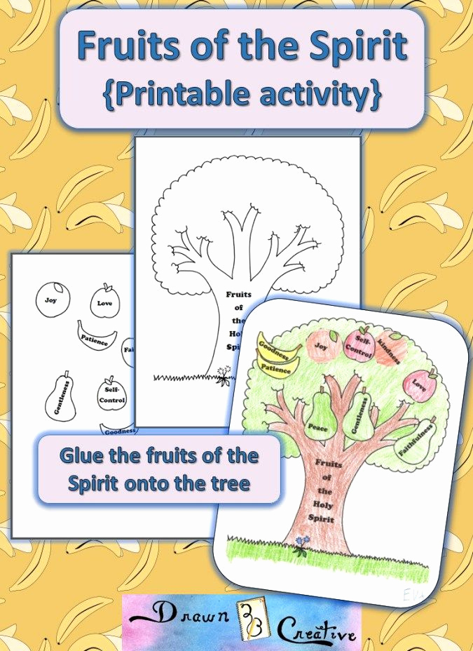 Fruits Of the Spirit Worksheets Elegant Pin On Catholic Printables