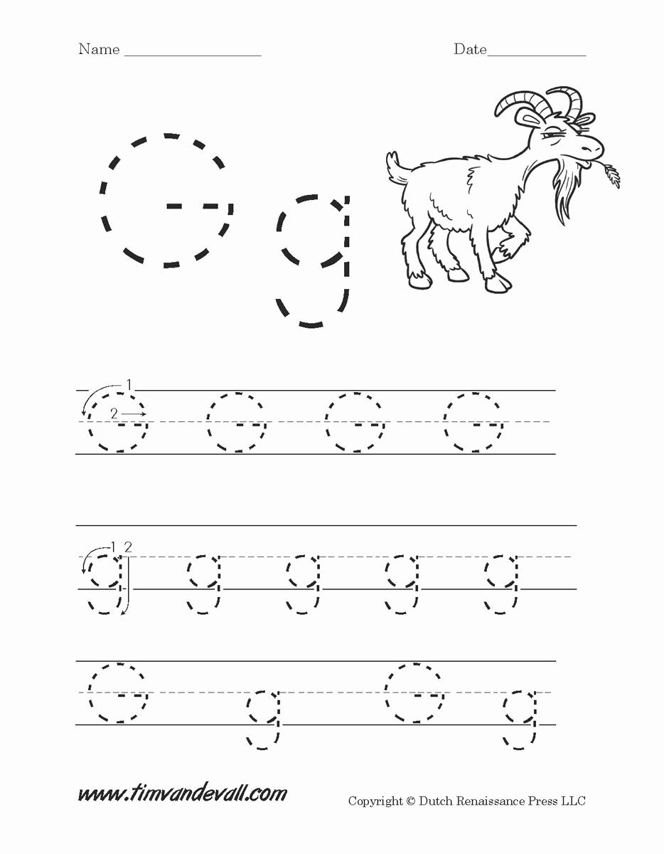 G Worksheets for Preschool Inspirational 15 Exciting Letter G Worksheets for Kids
