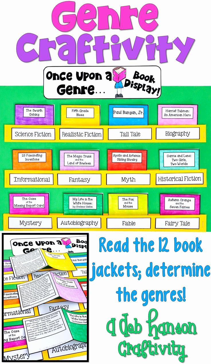 Genre Worksheets 4th Grade Best Of Genre Craftivity