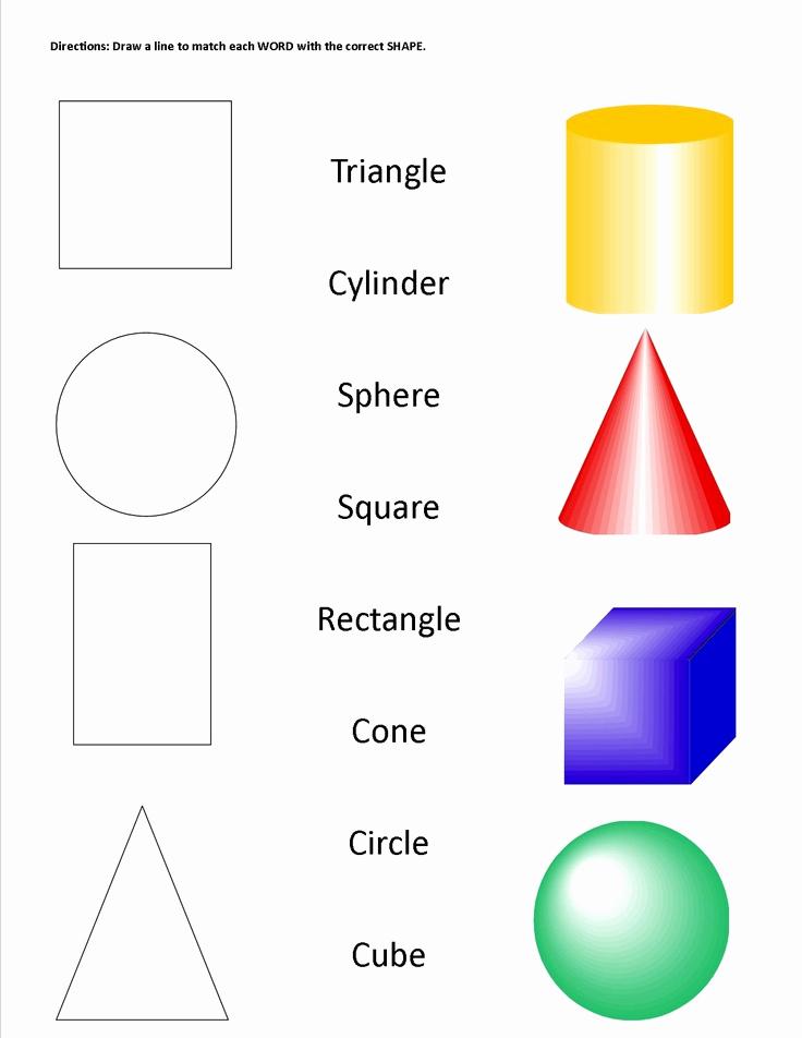 Geometric Shape Pattern Worksheets New Geometric Shapes & solids Worksheet