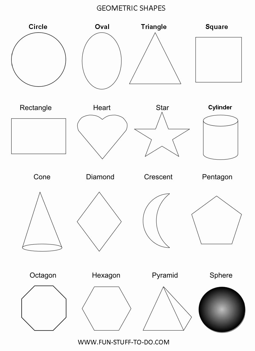 Geometric Shape Patterns Worksheet Fresh 17 Colorful Geometric Shape Template Geometric