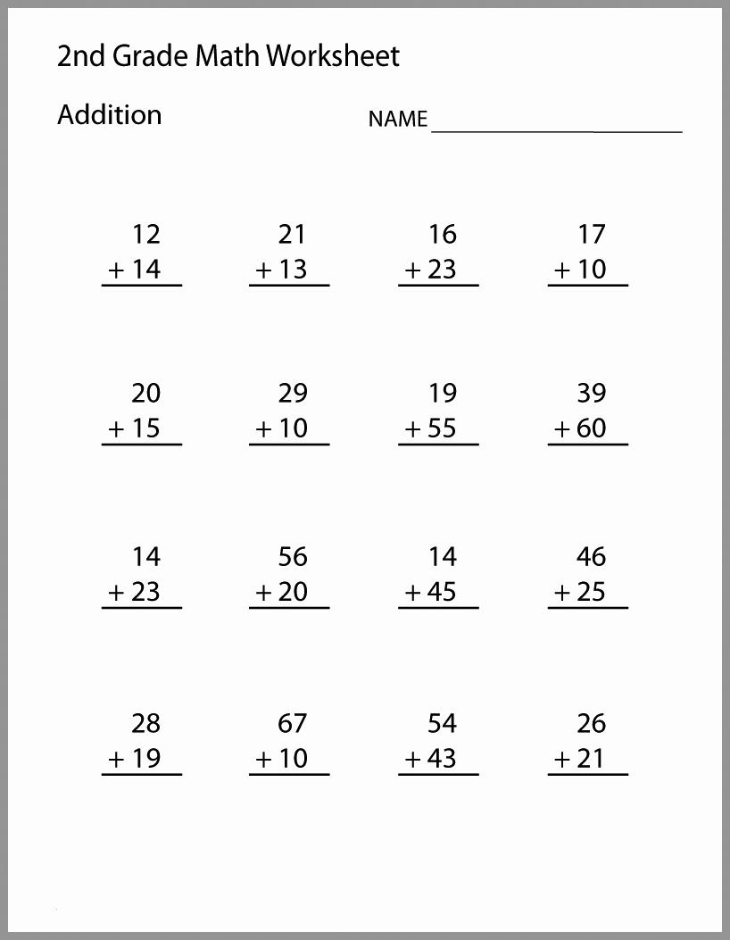 Geometry Worksheet 2nd Grade Elegant 2nd Grade Math Worksheets Best Coloring Pages for Kids