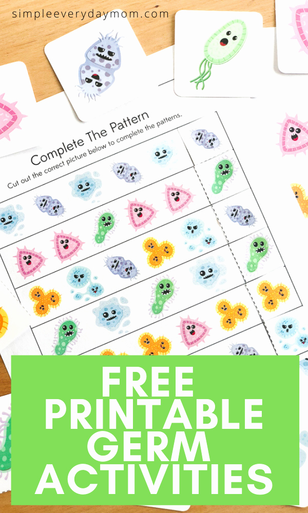 Germs Worksheets for Kindergarten Awesome Free Printable Germ Worksheets for Kindergarten In 2020