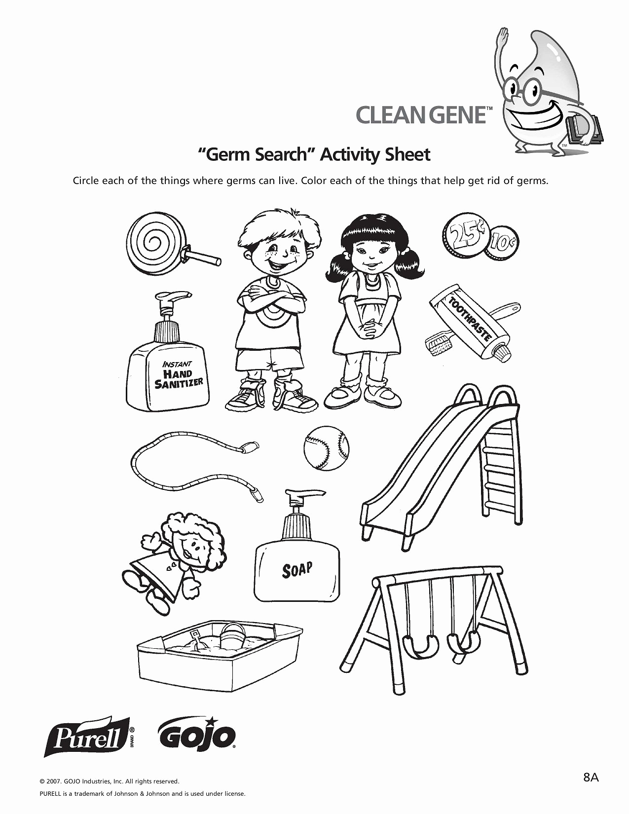 Germs Worksheets for Kindergarten Awesome K 5 Hand Hygiene Lesson Plans and Worksheets with Images