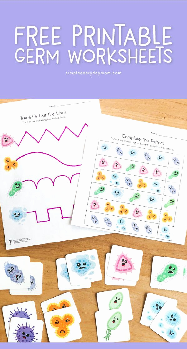 Germs Worksheets for Kindergarten Best Of Free Printable Germ Worksheets for Kindergarten