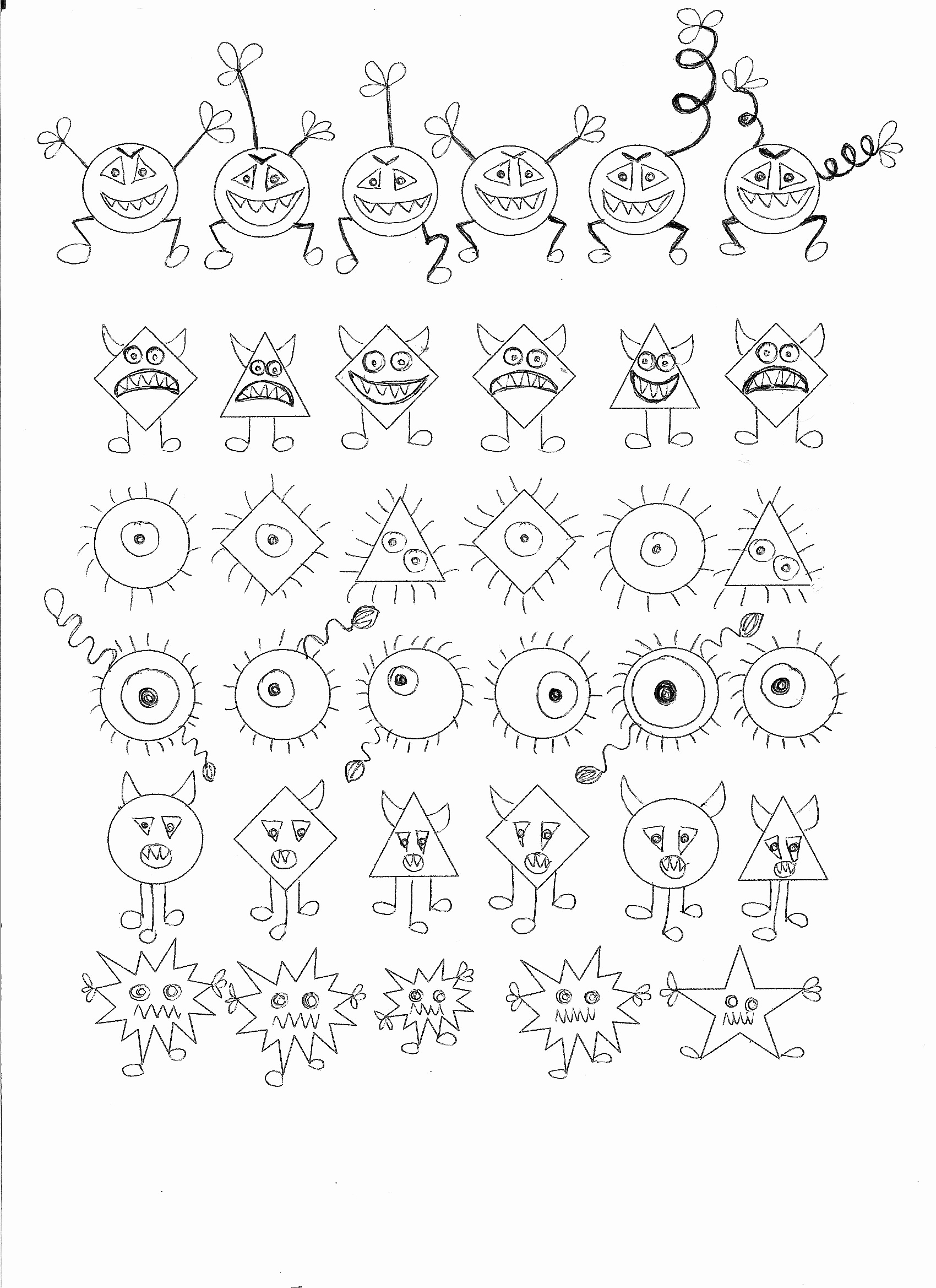 Germs Worksheets for Kindergarten Best Of Germ theme Math Activity Find the Germ that Doesn´t