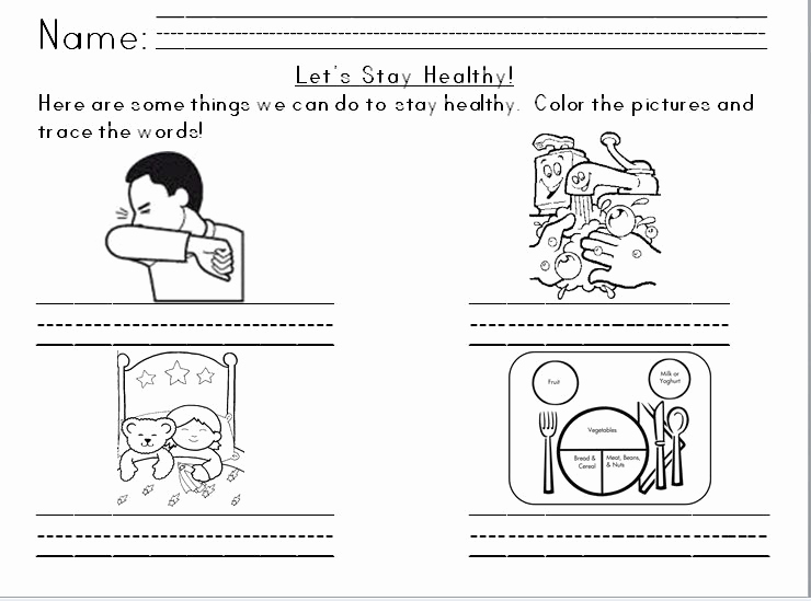 Germs Worksheets for Kindergarten Luxury Best solutions Of Germs for Kids Worksheets Also Template