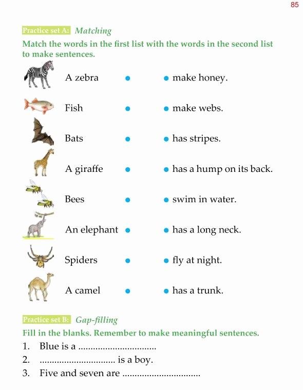 Grammar Worksheet 1st Grade Best Of Grammar 1st Grade Grammar Sentences 4