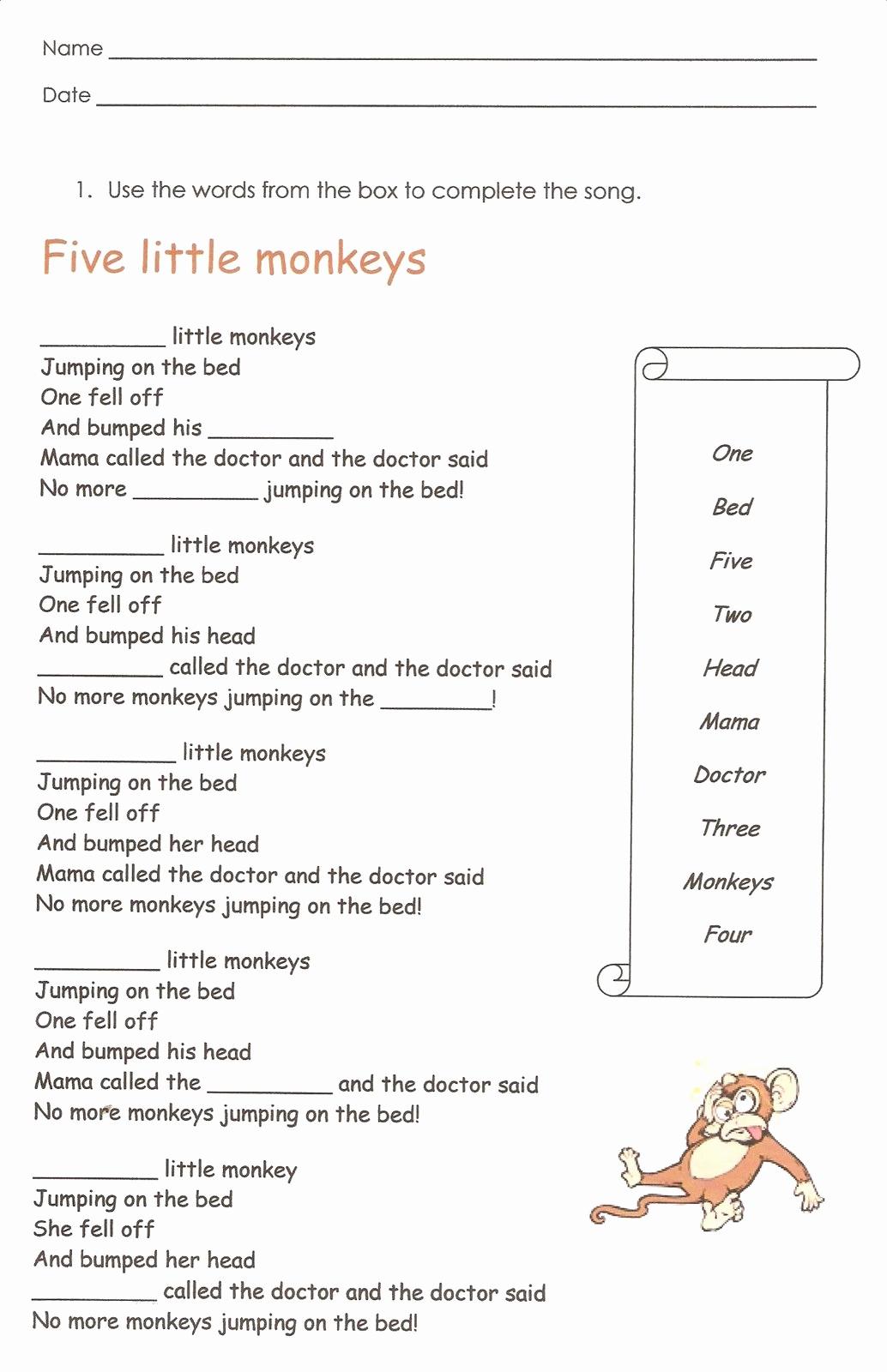 Grammar Worksheet 1st Grade Lovely First Grade English Worksheets to Print