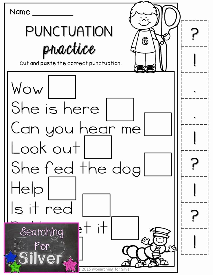 Grammar Worksheet First Grade Elegant Back to School Math & Literacy Printables 1st Grade