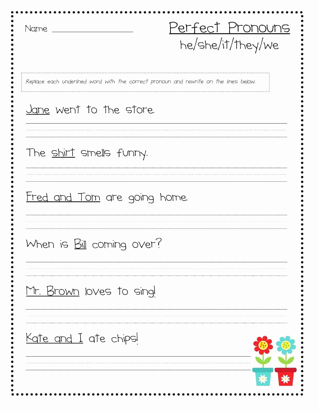 Grammar Worksheet First Grade Unique 20 Grammar Worksheet First Grade