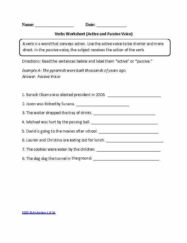 Grammar Worksheets for 8th Graders Awesome 8th Grade Mon Core