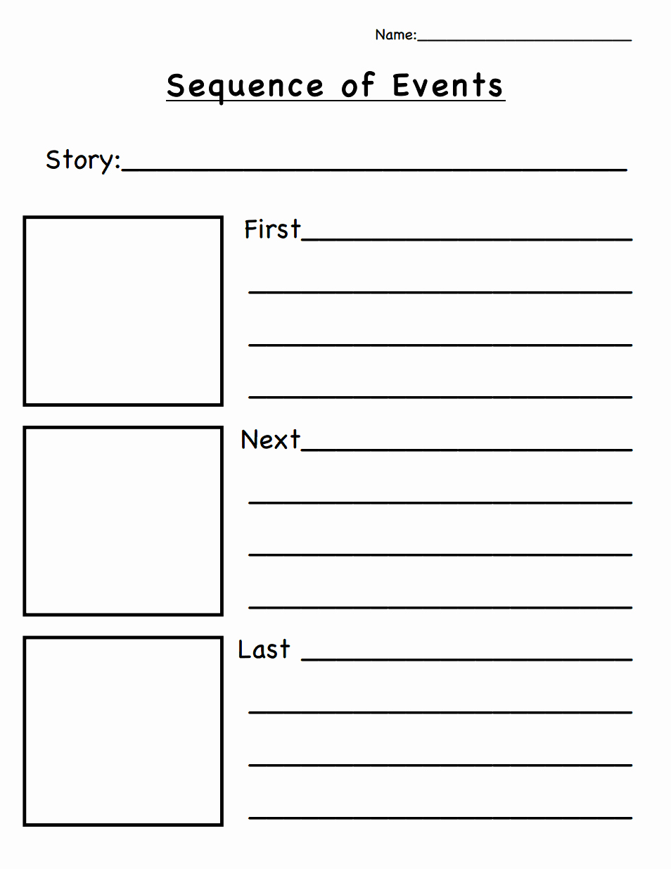 Graphic sources Worksheets Best Of Sequencing Timeline Template ordering Biographical events