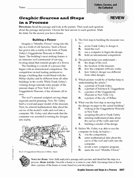 Graphic sources Worksheets New Graphic sources and Steps In A Process Worksheet for 4th