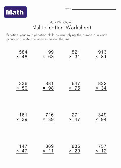 Hard Multiplication Worksheets New Hard Multiplication Sheets Printable