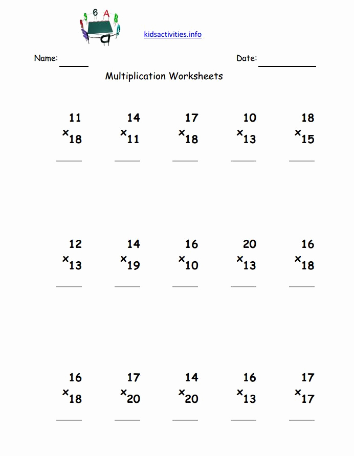 Hard Multiplication Worksheets New Hard Multiplication Worksheets A Worksheet Blog