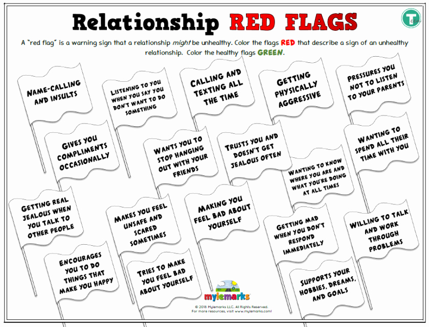 Healthy Relationships Worksheets Beautiful Healthy Relationship Worksheets 9