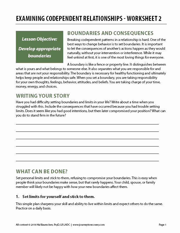 Healthy Relationships Worksheets Fresh 30 Healthy Relationships Worksheets