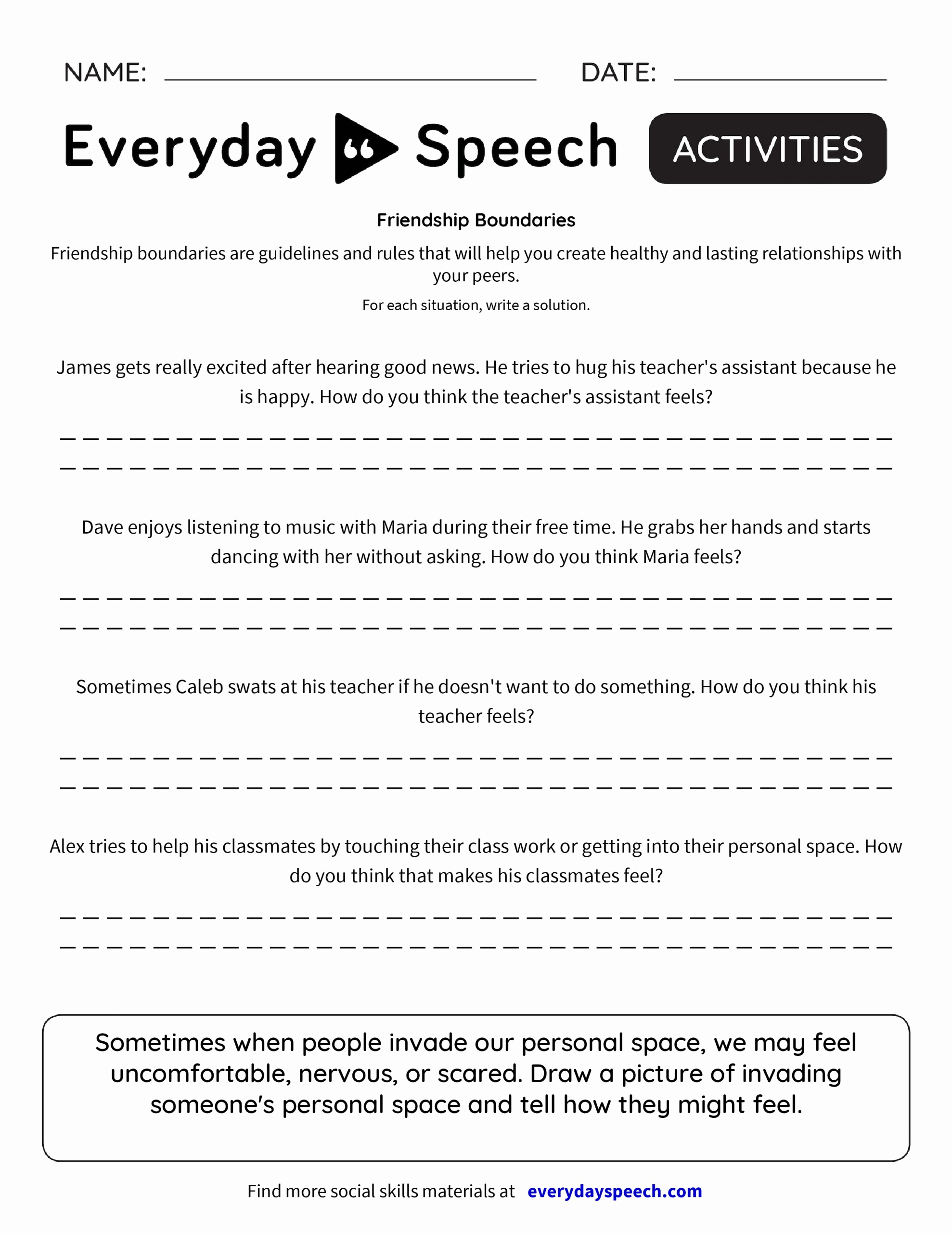 Healthy Relationships Worksheets New 30 Healthy Relationships Worksheets