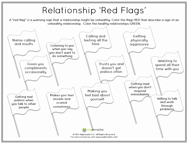 Healthy Relationships Worksheets New Healthy Relationships Worksheets