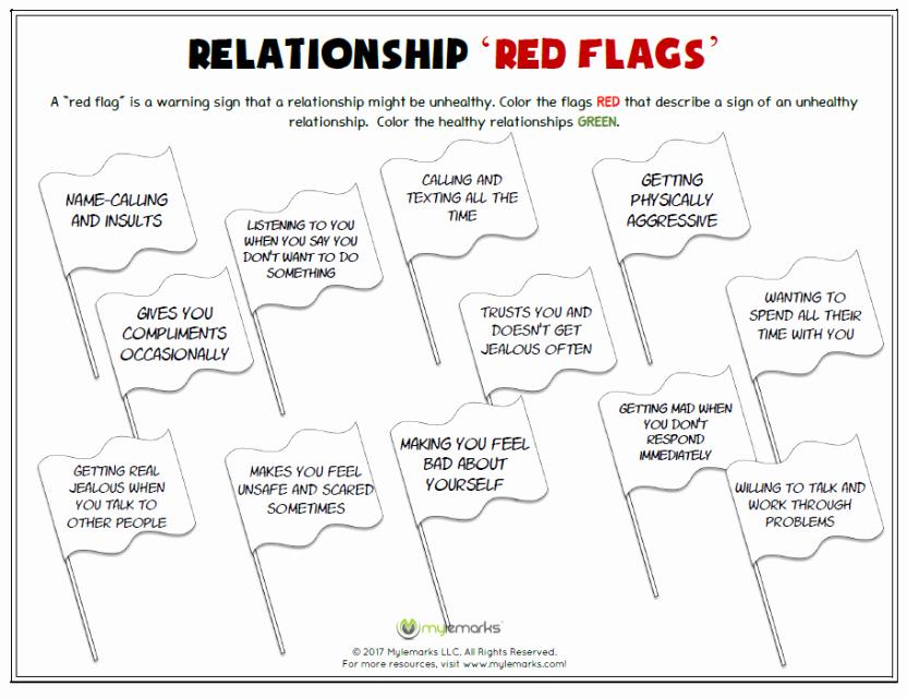 Healthy Relationships Worksheets Unique Healthy Relationships and Friendships Worksheets