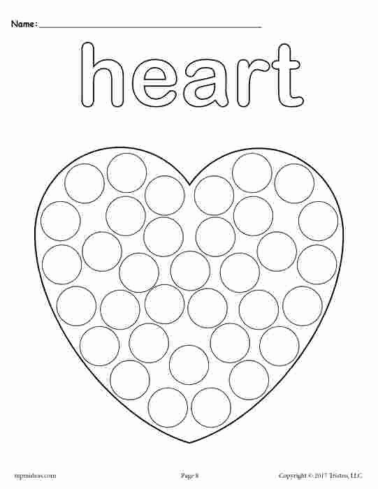 Heart Coloring Worksheet Awesome Heart Coloring Worksheet Heart Coloring Pages for