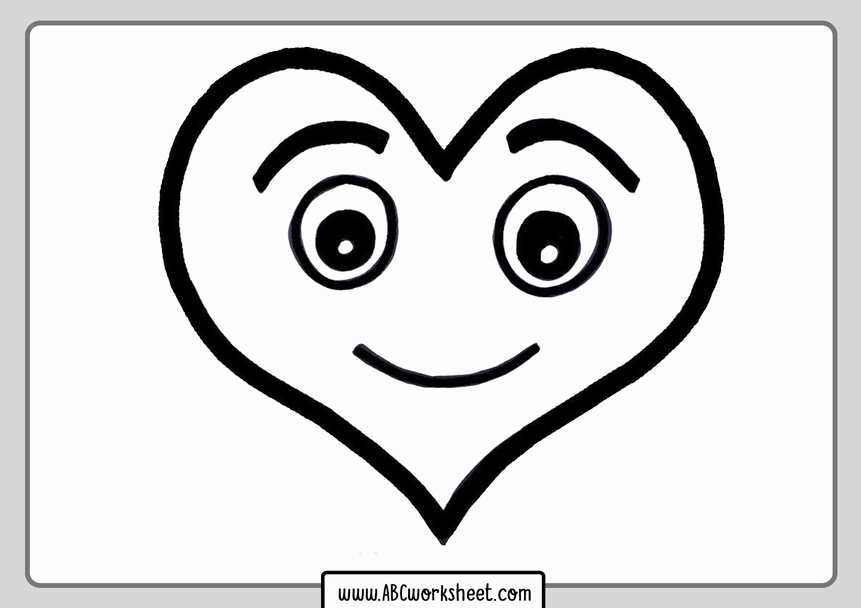 Heart Coloring Worksheet Lovely Printable Heart Coloring Pages