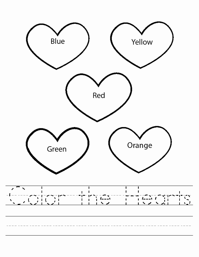 Heart Coloring Worksheet Luxury Valentines Worksheets Best Coloring Pages for Kids
