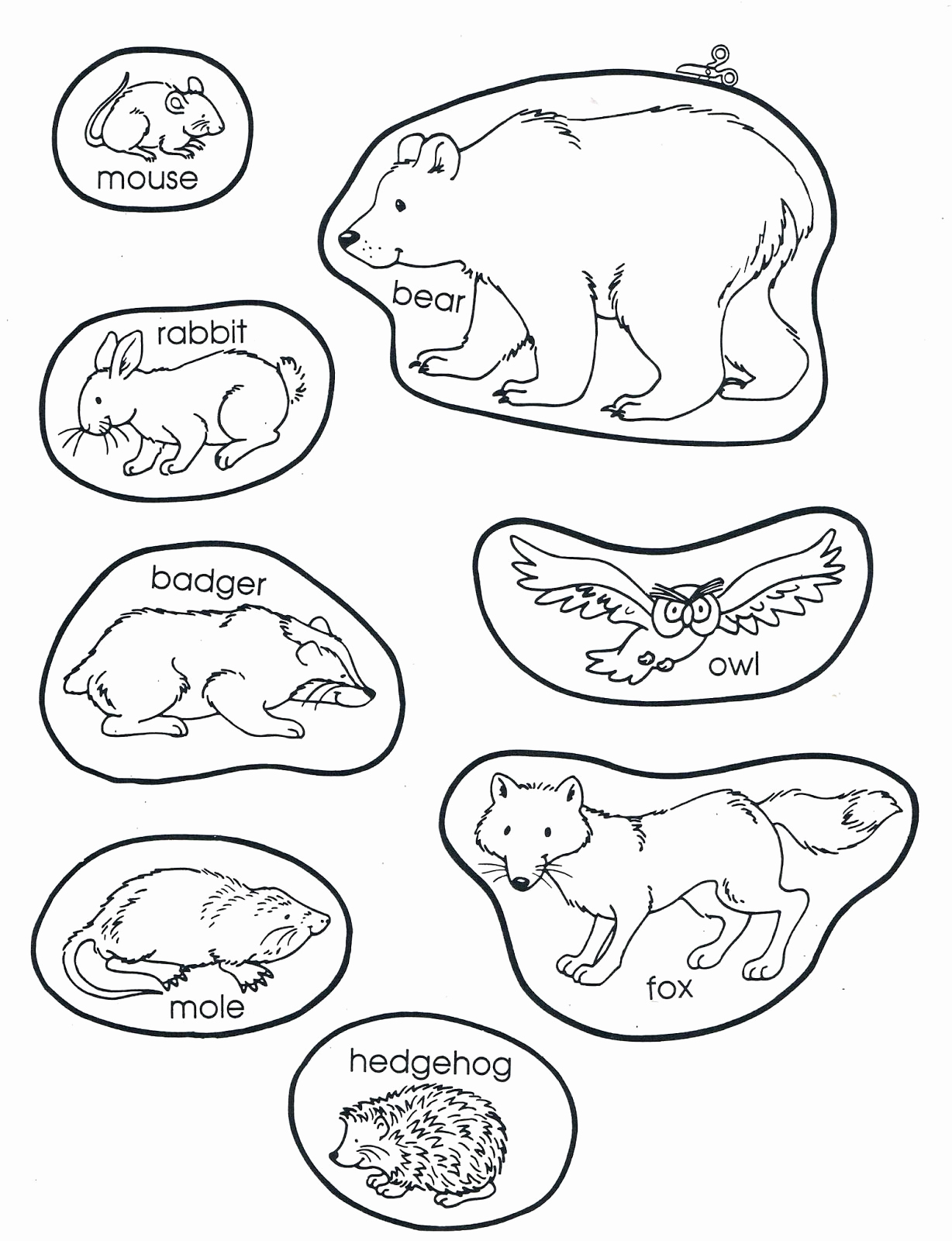 Hibernation Worksheets for Preschool Beautiful Hibernation Worksheets for Preschool