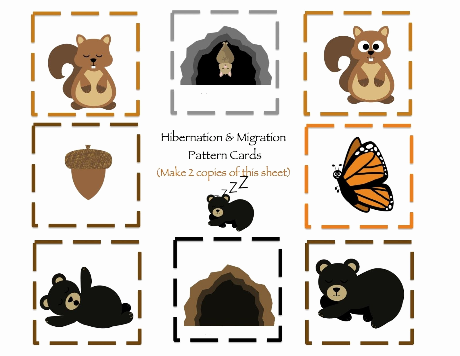 Hibernation Worksheets for Preschool Unique Love to Teach Hibernating Animal Puppets