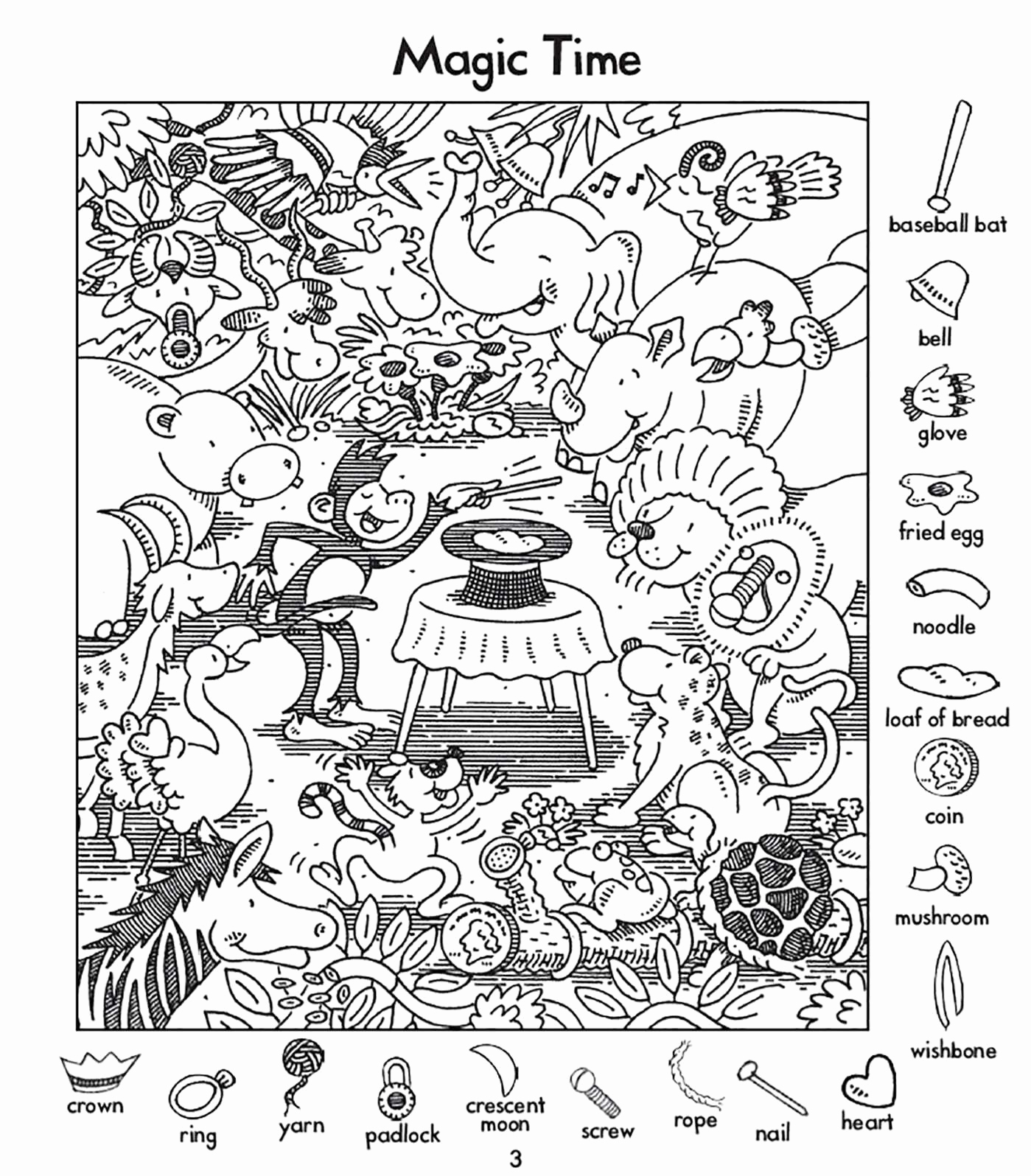 Hidden Animal Pictures Worksheets Awesome Hidden Animals Worksheet