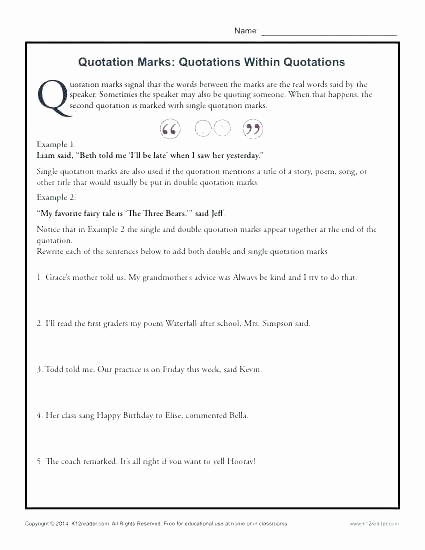 High School Punctuation Worksheets Unique Pin On Examples Printable Preschool Worksheets