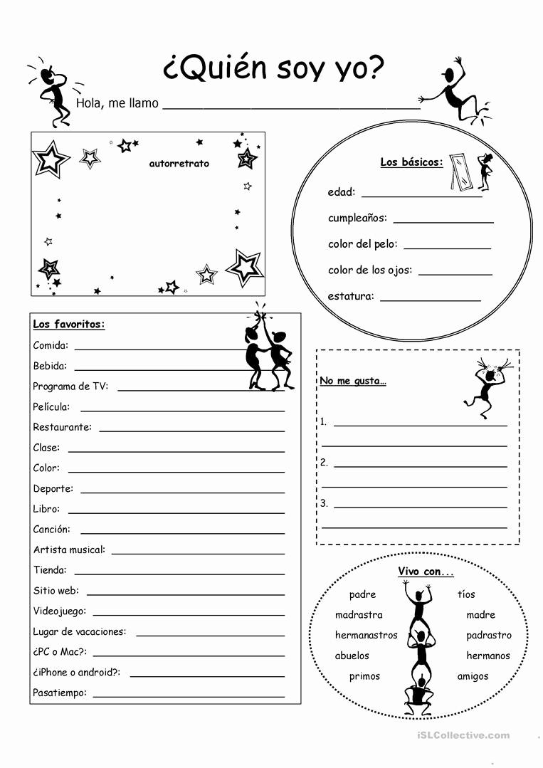 High School Spanish Worksheets Unique 20 High School Spanish Worksheets