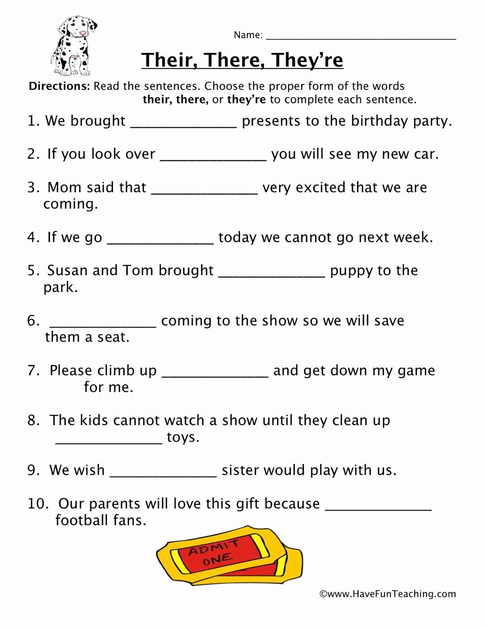 Homonyms Worksheets 5th Grade Beautiful Homophones Worksheet 5th Grade In 2020