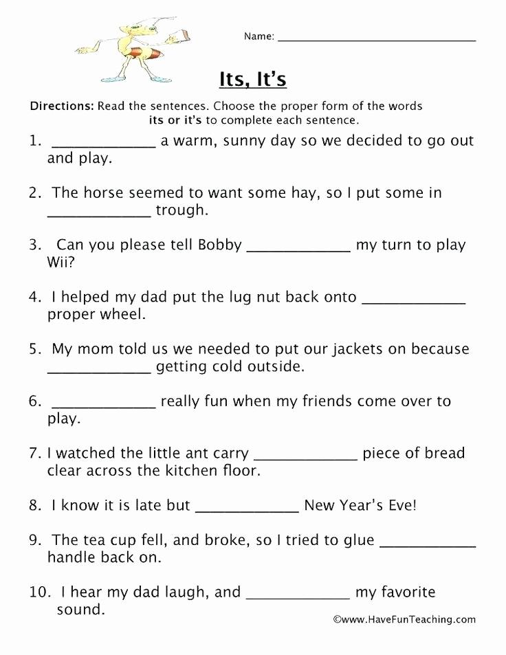 Homonyms Worksheets 5th Grade Best Of Homophones Worksheet 5th Grade Homophones Review Worksheet