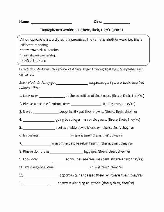 Homonyms Worksheets 5th Grade New Homonyms Worksheets 5th Grade Fifth Grade Proofreading