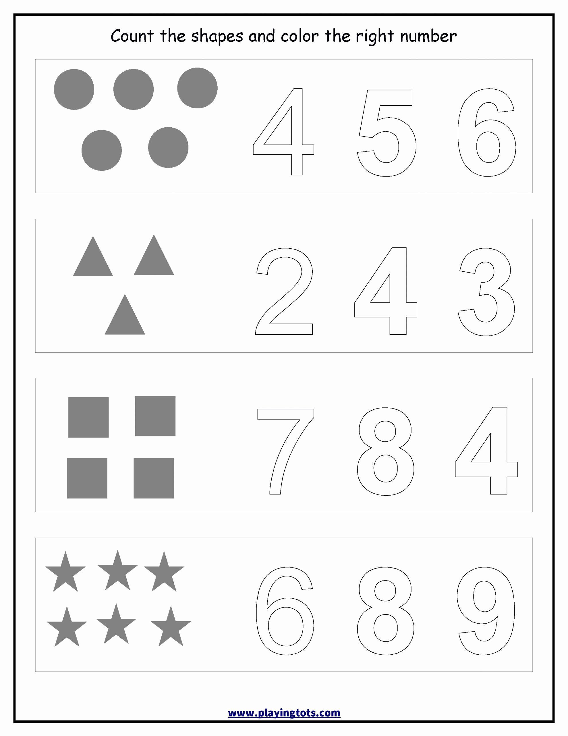 Identify Shapes Worksheet Kindergarten Awesome Shapes Worksheets for Kindergarten Pdf 9 Identify Numbers