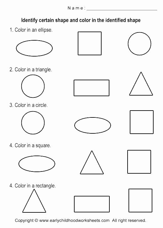 Identify Shapes Worksheet Kindergarten Inspirational 25 Identify Shapes Worksheet Kindergarten