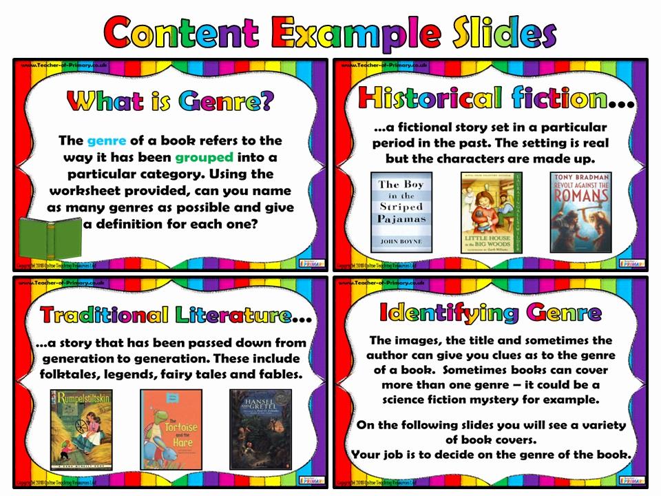 Identifying Genre Worksheets Beautiful Identifying Genre