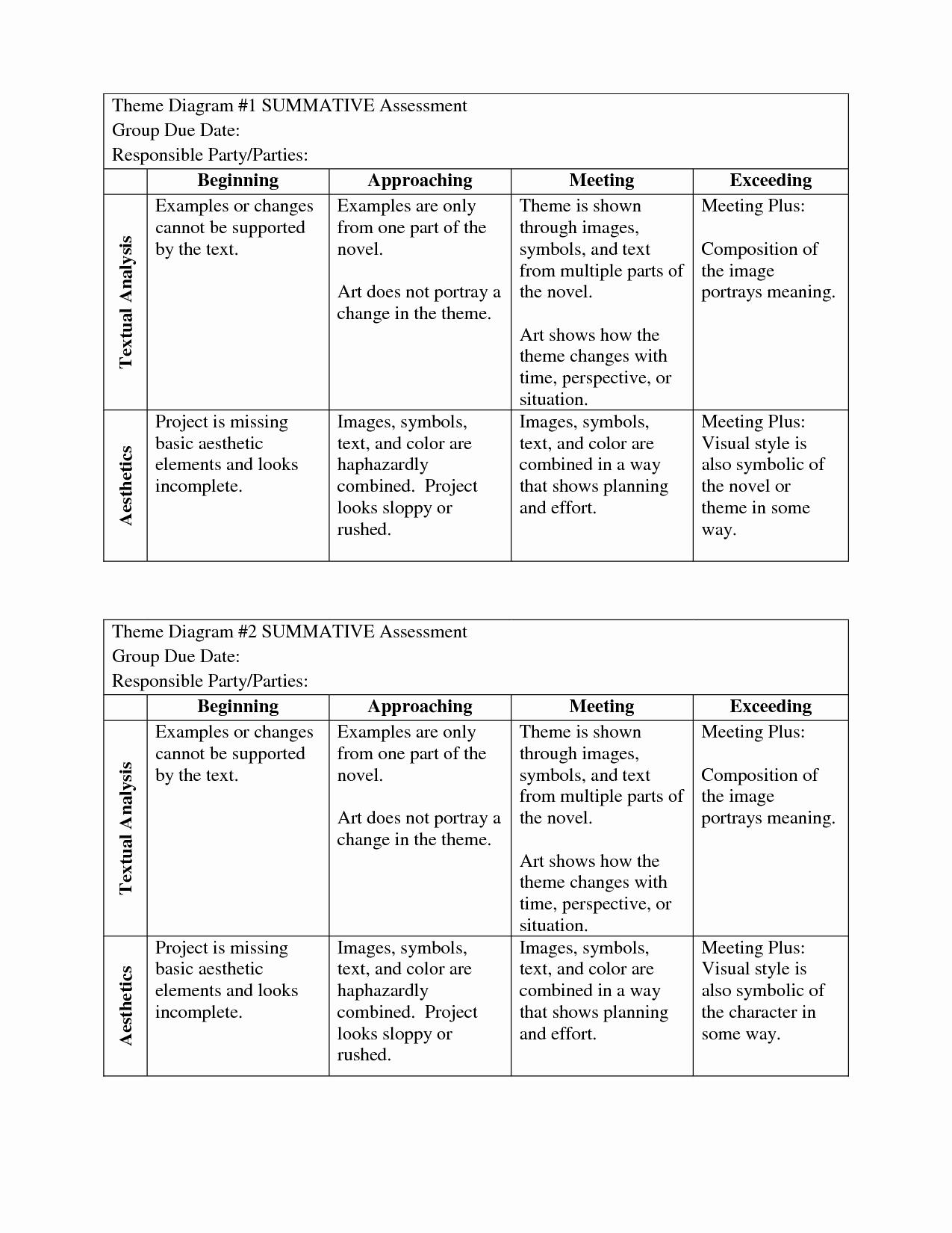Identifying theme Worksheet Beautiful 15 Best Of Determining theme Worksheets theme