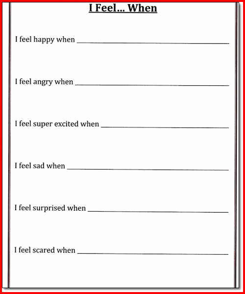 Impulse Control Worksheets Printable Awesome Impulse Control Worksheets Printable that are Gutsy