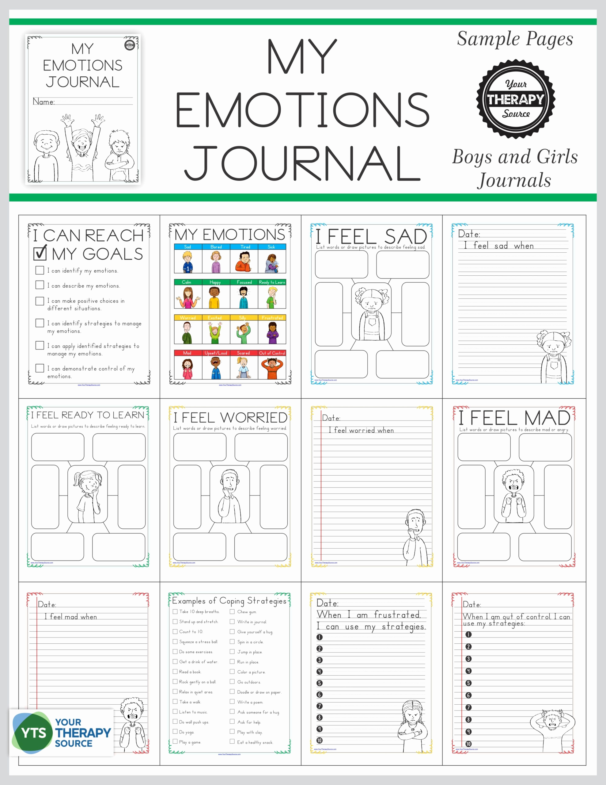 Impulse Control Worksheets Printable Lovely 30 Impulse Control Worksheets for Kids