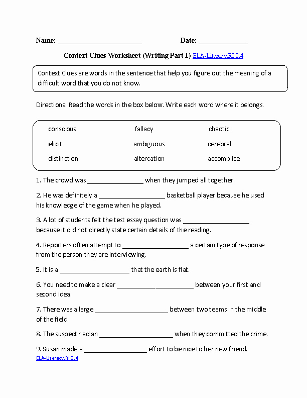 Informational Text Worksheets Middle School Unique 15 Best Of Informational Text Structure Worksheets