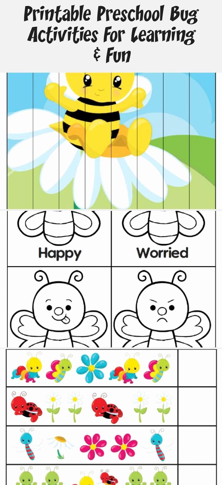 Insect Worksheets for Preschoolers Elegant 30 Preschool Bug and Insect Worksheets Coloring Style