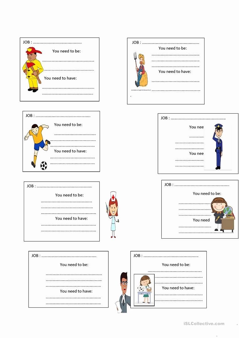 Job Skills Worksheets Awesome 30 Job Skills Worksheets