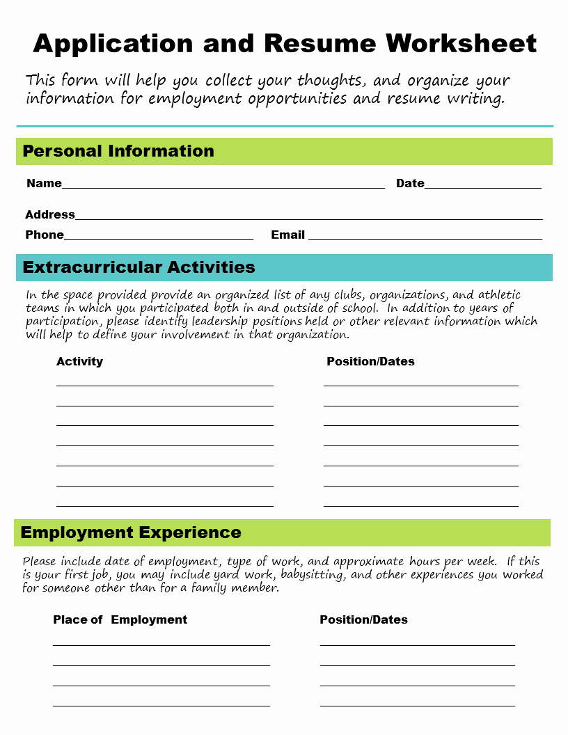 Job Skills Worksheets Best Of Employment Free Printable Life Skills Worksheets Pdf